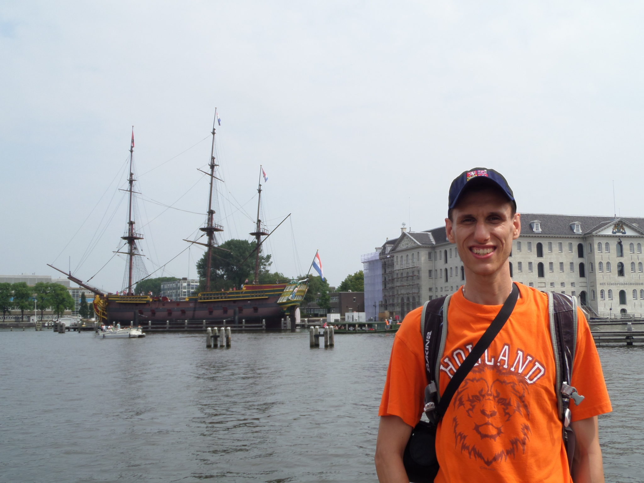 Jirka in Amsterdam